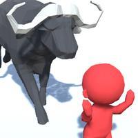 Bulls Fight Battle Royale