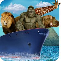 Animal Transporter Cargo Ship