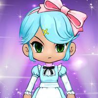 dress-up girls anime games