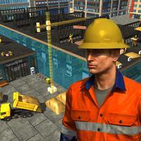 Supermarket crane operator 3D