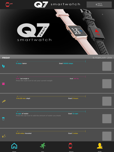 Q7 Sport Smartwatch App for iPhone - Free Download Q7 Sport