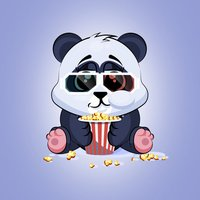 Adorable Panda Emoji Stickers