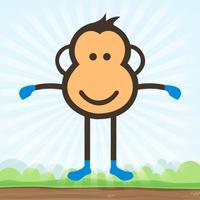 Jumping Chimp