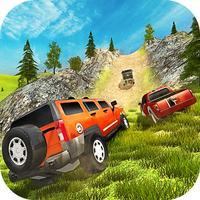 Uphill Off road Prado Car Driving Simulator 2017
