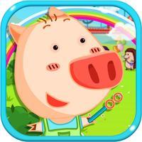 Pig Amusement Park-amusement park games