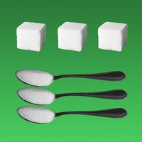 Sugar grams to cubes or spoons