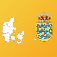 Denmark Region Maps and Capitals