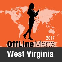 West Virginia Offline Map and Travel Trip Guide