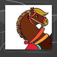 Horse Coloring Book App