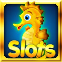 Golden seahorse progressive slotmachine: deep ocean adventure with plenty of treasure!