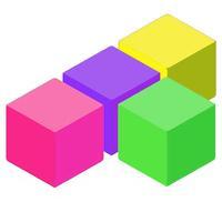 logic grid color block puzzle extreme - brain training for 10-10