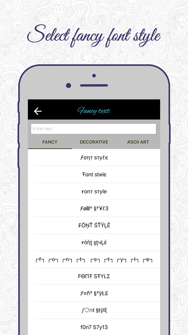 Fancy Text Generator: Write Cool Stylish Text PRO App for