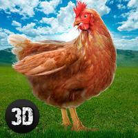 Crazy Chicken Simulator 3D: Farm Escape Full