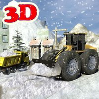 Snowplow Truck Driver simulator 3d game