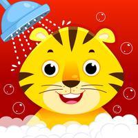 Animal Bathing Game for Kids