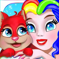 Royal Pets - Coloring Book for Kids with Littlest Animals Shop