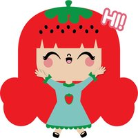 Strawberry Style adventures stickers for iMessage