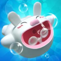AR Bouncing Bubble Machine