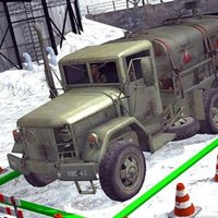 Army War Truck Driving