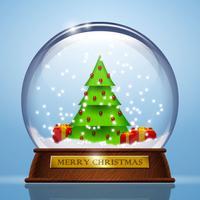 Snow Globe-shake it Merry Christmas