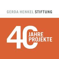 Gerda Henkel Stiftung, 40 Jahre – 40 Projekte