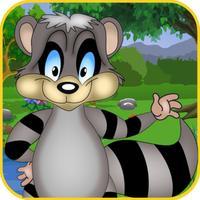 Racoon Voyage Race : Raccoon Animal vs. Panda and Owls