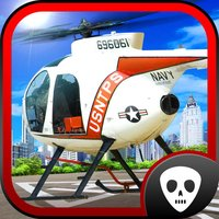 Helicopter 3D Parking Simulator Play and Test Fly Real Police, Rescue and Combat Heli