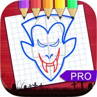 Sketch Drawing Vampires & Werewolf Pictures Pro