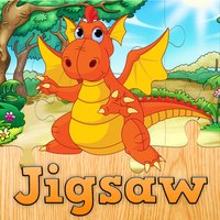 Cartoon Dragon Jigsaw Puzzles for Kids – Kindergarten Learning Games Free