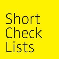 Short Check Lists