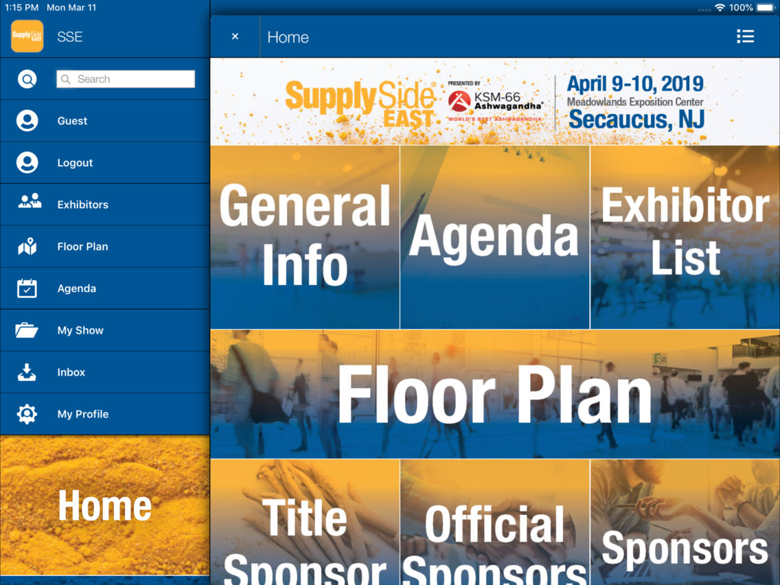 SupplySide East App for iPhone - Free Download SupplySide East for