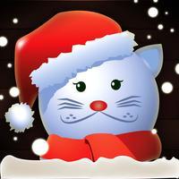 Santa Cat Christmas Jump - Mega Kitty Snow Leap FREE