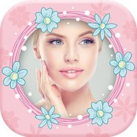 Cute Pink Photo Frames for Girls – Picture Editor