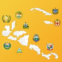 Central America and Caribbean Province Maps, Info