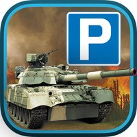3-D RC Army Tank Park-ing School and Drive-r Simulator