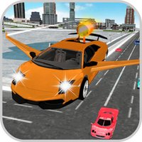 Flying Sport Car - New City