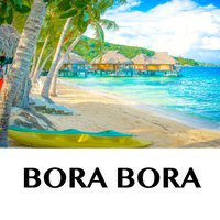 Bora Bora - holiday offline travel map