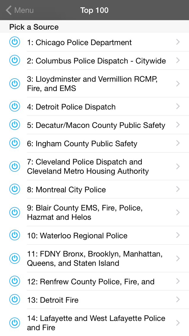 5-0 Radio Police Scanner App for iPhone - Free Download 5-0
