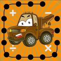 Math Dots(Trucks): Kids Connect To The Dot Truck Puzzle-s