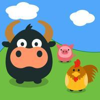 Farmory Game - Animals in the farm for children
