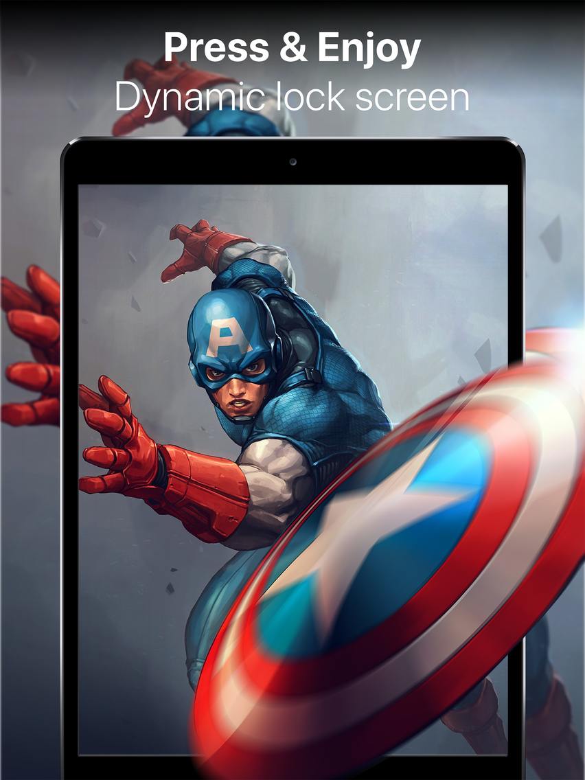Live Wallpapers 3d & HD Themes App for iPhone - Free