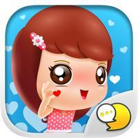 Jennie Pretty Women V.Thai Stickers By ChatStick