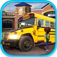 School Bus Driver - Pick & Drop 3D Simulator Game