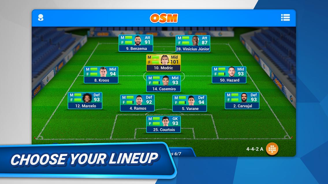 Online Soccer Manager (OSM) App for iPhone - Free Download Online