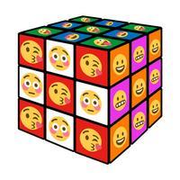 Emoji Cube - Amazing Rubiks Cube Game