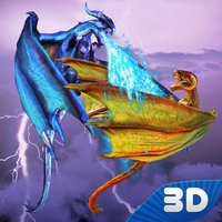 Flying Fire Dragon Fighting