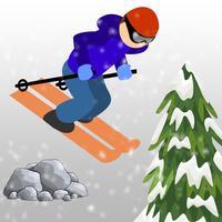 Downhill Skiing Challenge