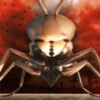 Drone Striker Scorpion Armory 3D - Desert Storm Bionic Monsters Collision