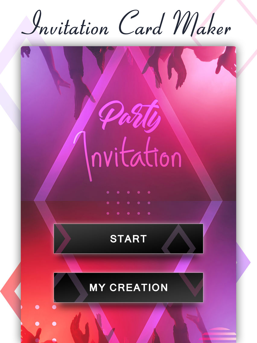 Party Invite Card Maker App For Iphone Free Download Party
