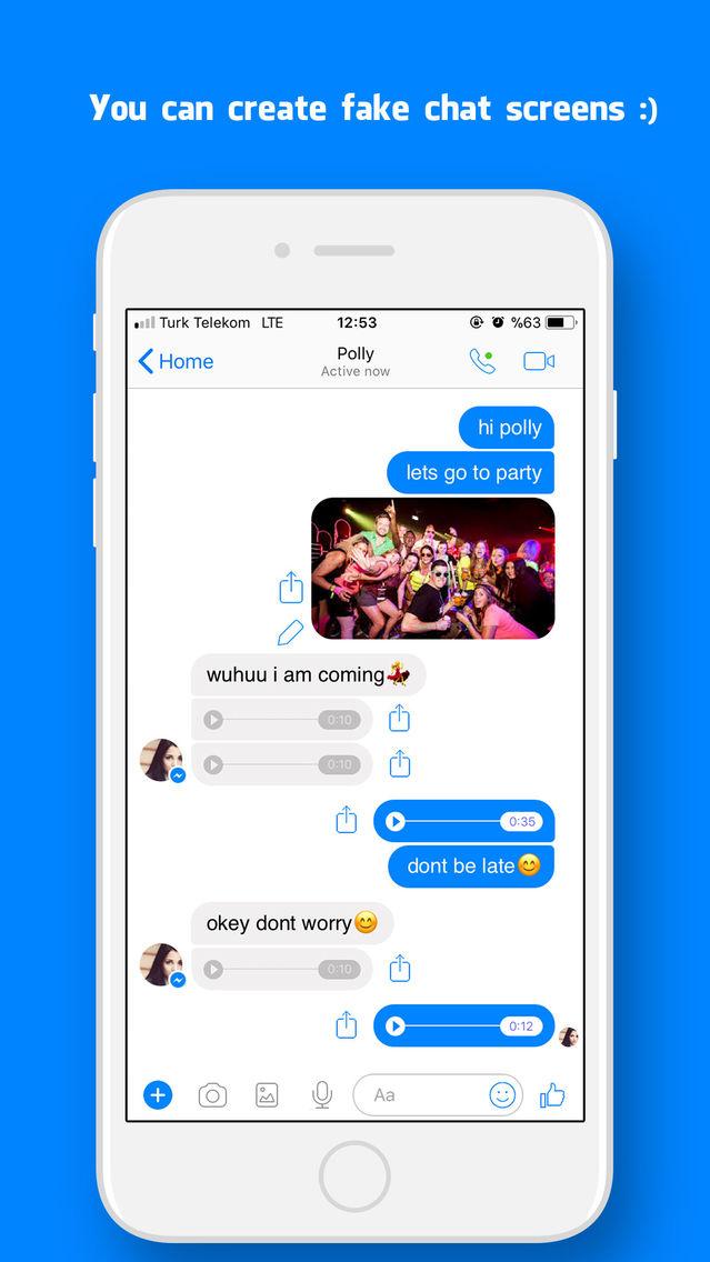 App ios chat fake Fake iMessage